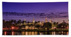 Venus Over The Minarets Bath Towel by Marvin Spates