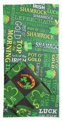Hand Towel featuring the photograph Very Irish by Barbara McDevitt