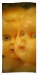 Very Scary Doll Bath Towel by Lynn Sprowl