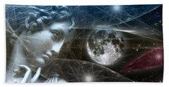 Vestal Moon Bath Towel by Rosa Cobos