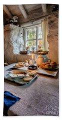 Victorian Cottage Breakfast Hand Towel