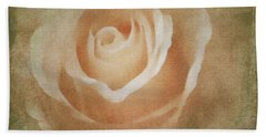 Victorian Vintage Pink Rose Hand Towel