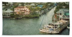 View At Fort Myers Beach - Florida Bath Towel