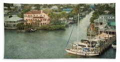 View At Fort Myers Beach - Florida Hand Towel