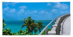 View From The Old Bahia Honda Bridge Hand Towel