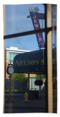 View From The Window Auburn Washington Hand Towel