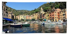 view in Portofino Bath Towel by Antonio Scarpi