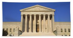 View Of Entire Us Supreme Court Hand Towel