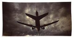 View Of Plane Bath Towel