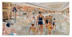 View Of The First Class Swimming Pool Bath Towel