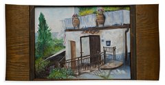 Villa In Tuscany Hand Towel