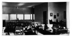 Villa Stein, 1927 Hand Towel by Granger