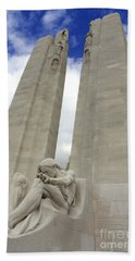 Vimy Ridge Memorial France Bath Towel