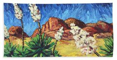 Vincent In Arizona Hand Towel