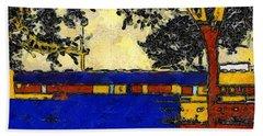 Vincent's Japanese Garden Bath Towel
