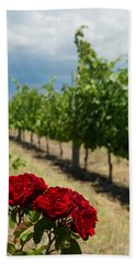 Vineyard Rose Hand Towel