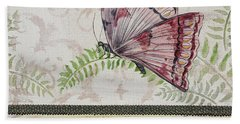 Vintage Butterfly-jp2564 Bath Towel