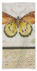 Vintage Butterfly-jp2565 Bath Towel