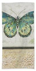 Vintage Butterfly-jp2567 Bath Towel