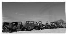 Vintage Cars Hand Towel