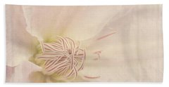 Vintage Flower Art - A Beautiful Place Bath Towel by Jordan Blackstone