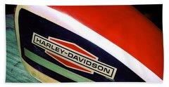 Vintage Harley Davidson Gas Tank Hand Towel