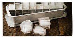Vintage Ice Cubes Bath Towel