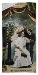 Vintage Love In A Photo Studio Bath Towel