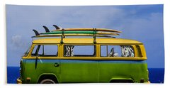 Vintage Surf Van Bath Towel