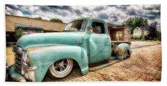 Vintage Truck  Bath Towel