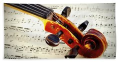 Violine Bath Towel