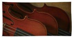 Violins Bath Towel