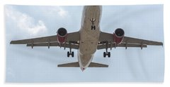 Virgin America Airbus 319 Bath Towel
