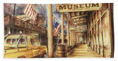 Virginia City Nevada - Western Art Painting Hand Towel