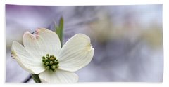 Bath Towel featuring the photograph Virginia Dogwood by Cathy Shiflett