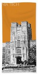 Virginia Tech - Dark Orange Hand Towel