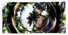Visions Echo In The Crystal Ball Hand Towel