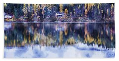 Visions- Lake Inez Hand Towel by Janie Johnson