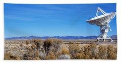 Vla Telescope, Socorro, New Mexico, Usa Bath Towel