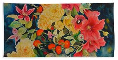 Vogue Hand Towel by Beatrice Cloake