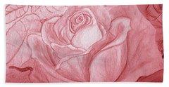 Voir La Vie En Rose Hand Towel