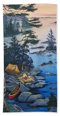 Wabigoon Lake Memories Hand Towel