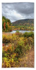 Wachusett Mt. In Autumn Bath Towel