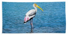 Wading Stork Hand Towel