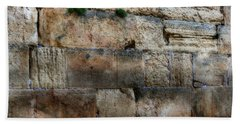 Hand Towel featuring the photograph Wailing Wall In Israel by Doc Braham