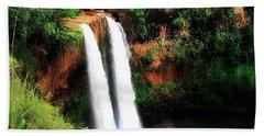 Wailua Falls Hand Towel