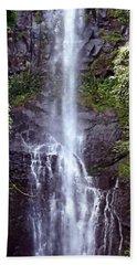 Wailua Falls Maui Hawaii Bath Towel