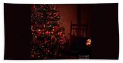 Waiting For Christmas - Square Hand Towel