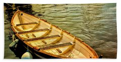 Waiting For The Fisherman Bath Towel by Wallaroo Images