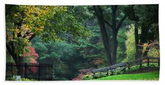 Walk In The Park Bath Towel
